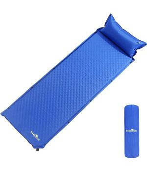 Self-Inflating Sleeping Pad Air Camping Mat Lightweight Pillow - L76.8 x W25.6 x H1.7 for Sale in San Gabriel, CA