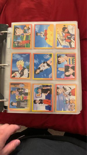 Dragon ball z cards for Sale in El Paso, TX