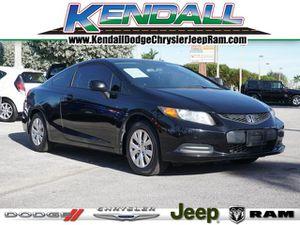 2012 Honda Civic Cpe for Sale in Miami, FL