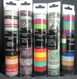 Washi Craft Tape for Sale in Houston, TX