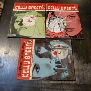 Kelly Green #1 The Go Between, #2 One Two Three Die, And #3 Million Dollar Hit, Dargaud TPB Graphic Novel Lot for Sale in Fresno, CA