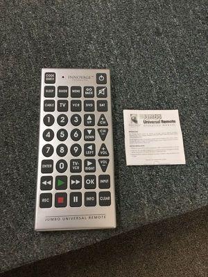 New universal Remote TV DVD VCR for Sale in Concord, MA