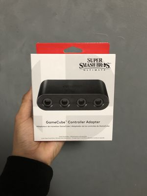 Nintendo Switch GameCube Controller Adapter (OEM) for Sale in Renton, WA