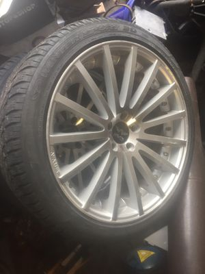 20 inch rims with tires for Sale in Cranston, RI
