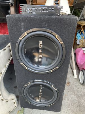 Subwoofer and Amp for $100.00 for Sale in Central Falls, RI