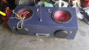Homemade party speaker read ad for Sale in Southgate, MI