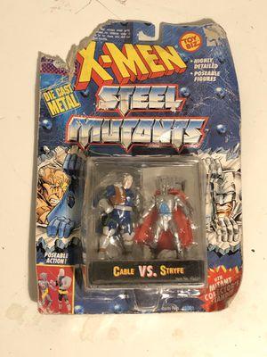 1994 Toy Biz X-Men Steel Mutants Mini Metal Action Figures for Sale in Fresno, CA