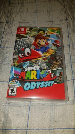 Super Mario Odyssey Nintendo Switch for Sale in Oceanside, CA