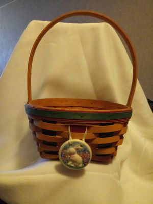 Longaberger Easter basket for Sale in Columbus, OH