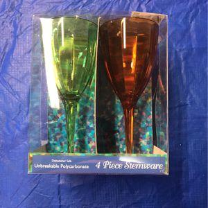 Four piece stemware for Sale in Corona, CA