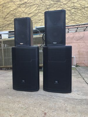 Full PA system (speakers,Sub,mixer and sound processor) for Sale in Washington, DC