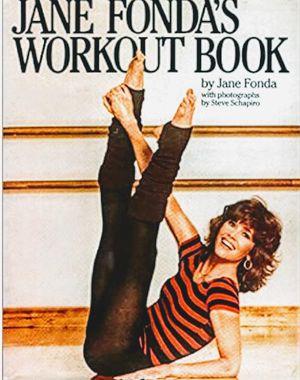 The Jane Fonda Workout Book By Jane Fonda Hardback Book for Sale in San Diego, CA