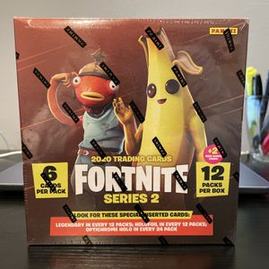 2020 Panini Fortnite Series 2 Mega Box 12packs/6 Cards Per Pack New Fact. Sealed for Sale in Los Angeles, CA