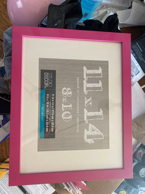 Brand new pink border picture frame 11x14 for Sale in San Leandro, CA