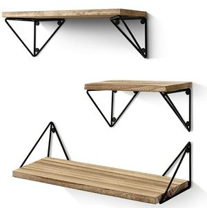 Wall Mounted Set of 3, Rustic Wood Wallfor Living Room, Bedroom for Sale in Los Angeles, CA