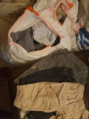 Baby boy clothes 3 to 12 months! Most $1 - $2 each. no flaws. Schedule a time to come by and peek thru. for Sale in Tacoma, WA