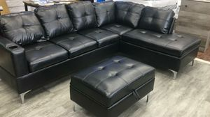 Sectional And Ottoman 849$ for Sale in Garland, TX