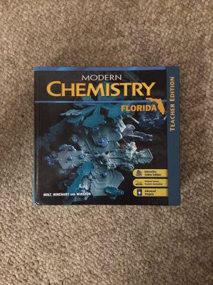 Modern Chemistry Florida Teacher Edition for Sale in Sunrise, FL