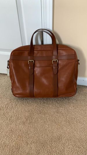 """Fossil Leather 15"""" Laptop Messenger Bag for Sale in Itasca, IL"""