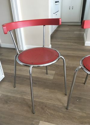 Vintage metal chairs for Sale in San Clemente, CA