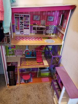 Casita Para Las Babies Y Mini Cosinita Los 2 Por $70 for Sale in Clovis, CA