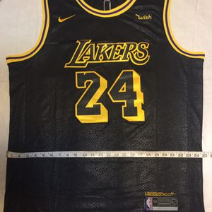 Los Angeles Lakers Jersey Kobe Bryant Absolutely Brand New SIZE XL/XXL (54) WEDNESDAY PRICE ONLY for Sale in Beverly Hills, CA