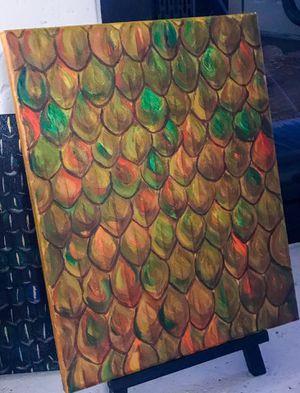 Dragon Scales Painting for Sale in Silverado, CA
