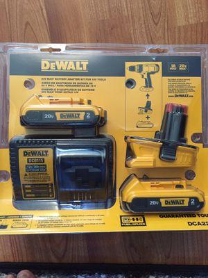 Battery Adapter Kit for 18V Tool s for Sale in Alexandria, VA