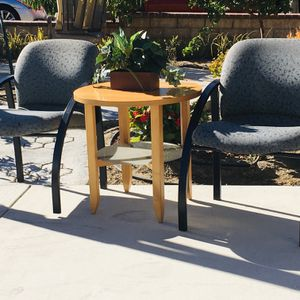 A pair of comfortable chairs and a small table, a total of $185,it Is In Good Condition ! for Sale in Seal Beach, CA
