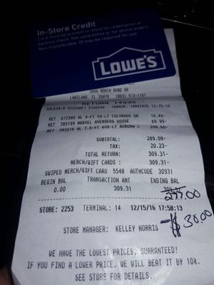 Lowes for Sale in Lakeland, FL