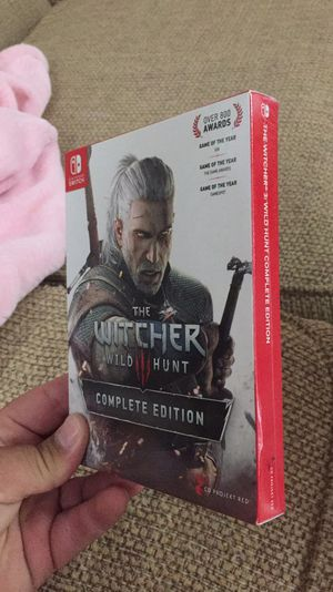 The witcher 3 for nintendo switch for Sale in Hialeah, FL