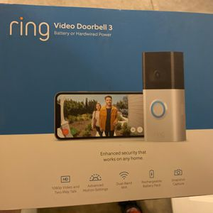 Ring Video Doorbell 3 Battery Or Hardwired Power for Sale in Costa Mesa, CA