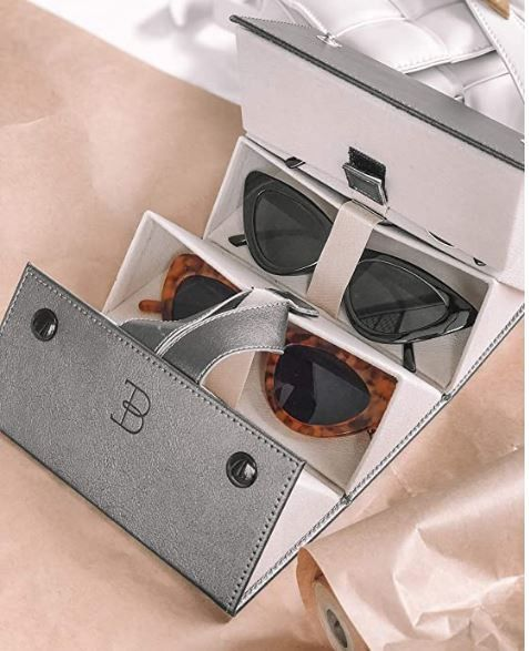 Sunglass/Eyewear Lovers! Chic Storage Or For Travel On The Go!!