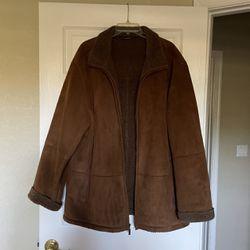 Suede Winter Coat XL Weatherproof for Sale in West Palm Beach,  FL