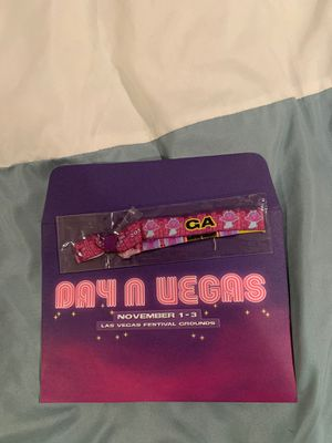 Day N Vegas Music Festival GA Wristband (All 3 Days) for Sale in Portland, OR