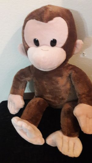 Curious george stuffed monkey for Sale in Oldsmar, FL