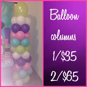 Balloon columns for Sale in Mesquite, TX