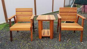 Outdoor cedar furniture for Sale in Milwaukie, OR