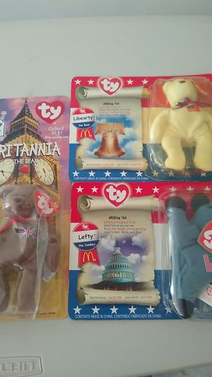 Beanie Babies Dolls TY McDonald's Collection 1996/1997 for Sale in Monterey Park, CA
