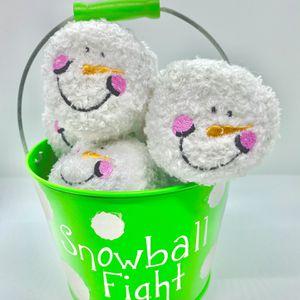 Plush Happy Snowballs for Sale in South Elgin, IL