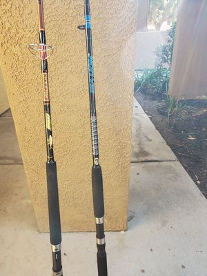 Saltwater fishing rod s for Sale in Corona, CA