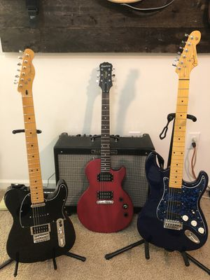 Used Fender guitars / Gibson Epiphone for Sale in Clayton, NC