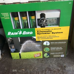 Rain Bird Automatic Sprinkler Systems (2 Full Systems) for Sale in Duncanville, TX