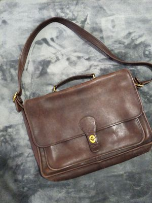Coach Leather Messenger Book Bag for Sale in Dallas, TX