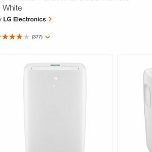 Portable LG AC, Practically Still NEW for Sale in Jersey City, NJ