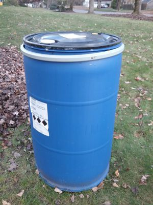 55 gallon water drum for Sale in Parsippany-Troy Hills, NJ