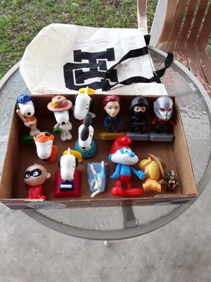 Snoopy and Marvel Collectible Toys. 13 pcs. for Sale in San Antonio, TX