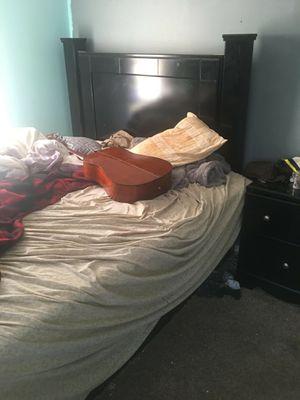 Black bedroom set for Sale in La Porte, IN