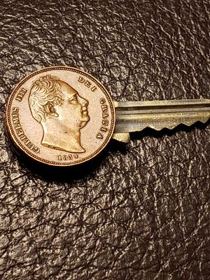 Antique Coins Key from 1800's for Sale in Riverside, CA