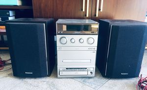 PANASONIC CD 💿 stereo system sa-pm 15 for Sale in Long Beach, CA